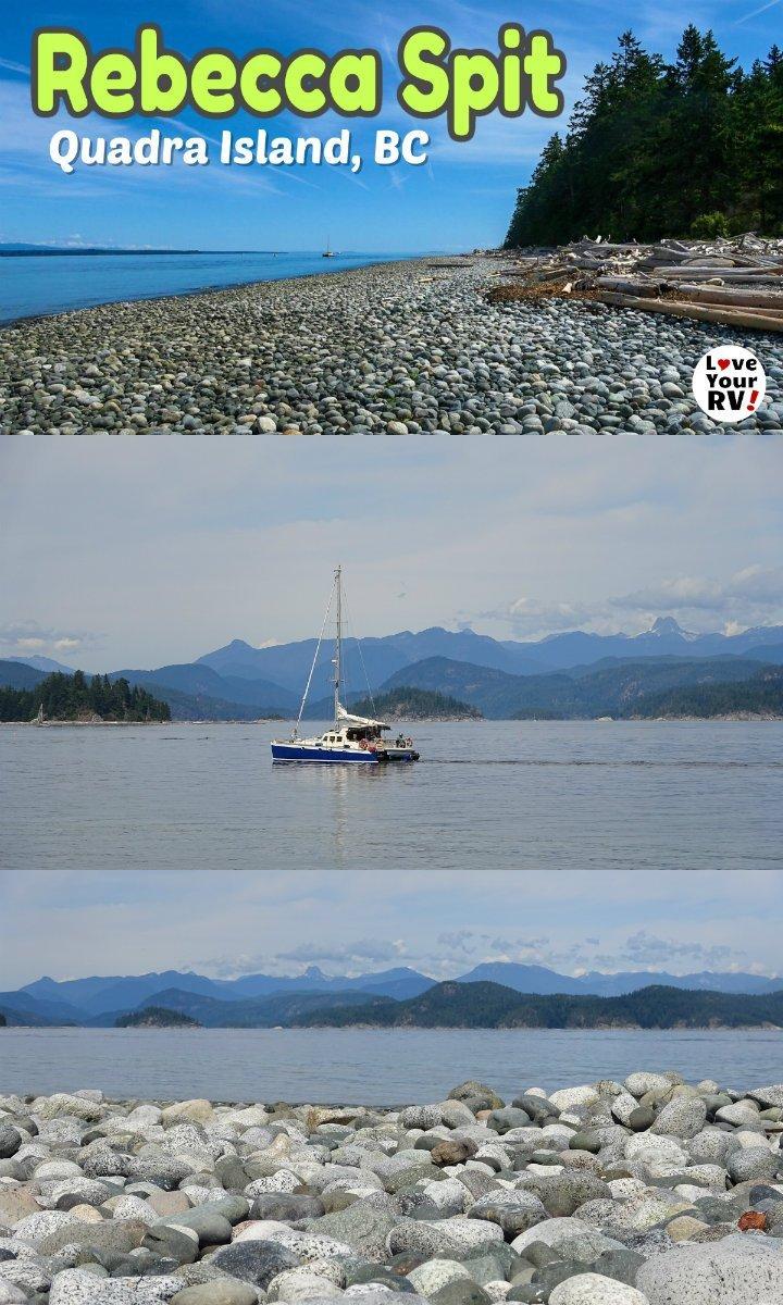 Lovely Rebecca Spit Provincial Park - Quadra Island, BC