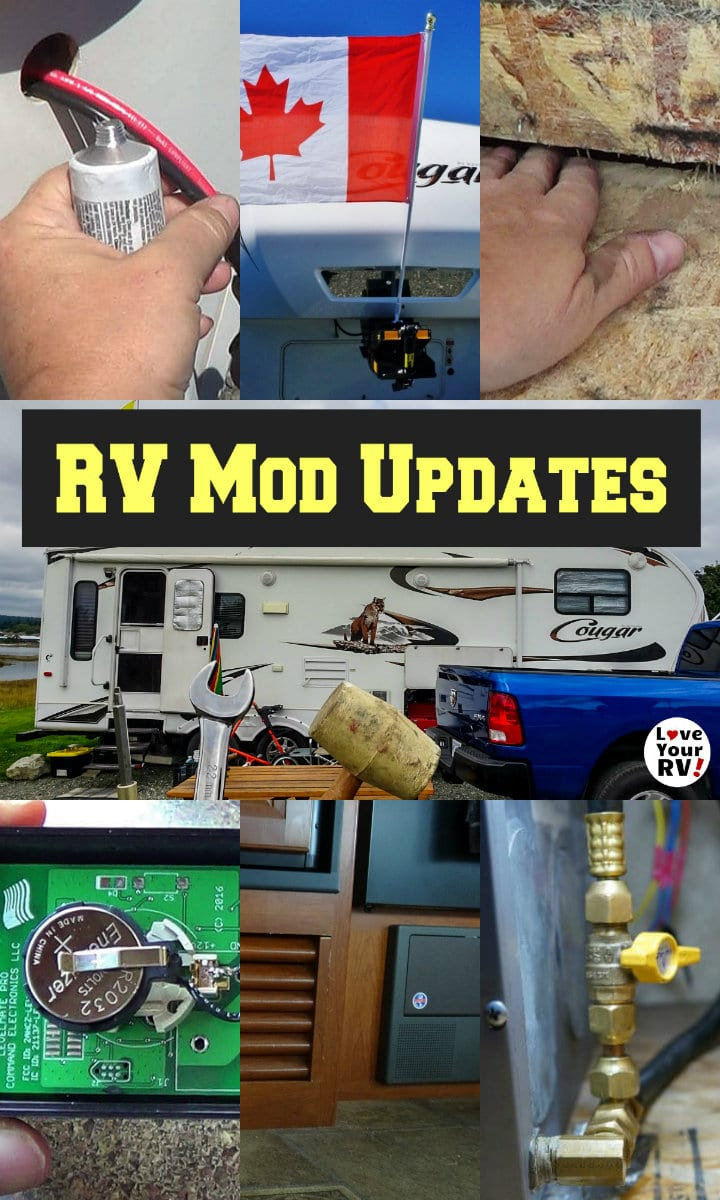 Update on the Many Little Mods I've Made to Our RV  https://www.loveyourrv.com/many-little-mods-to-our-rv/