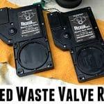 Black Tank Valve Clog Repair Feature Photo