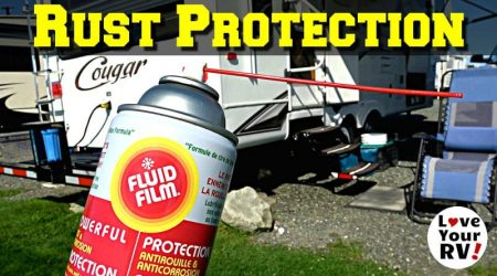 RV Rust Protection & Lubrication with Fluid Film