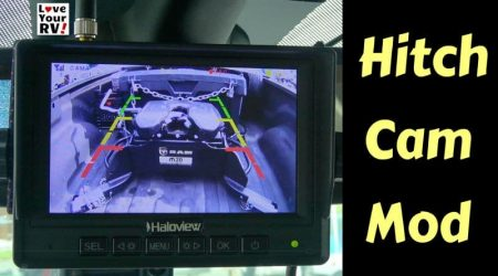 Wireless Camera for Hitching Fifth Wheel Trailer