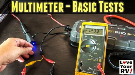 How to Use a Multimeter for RVers