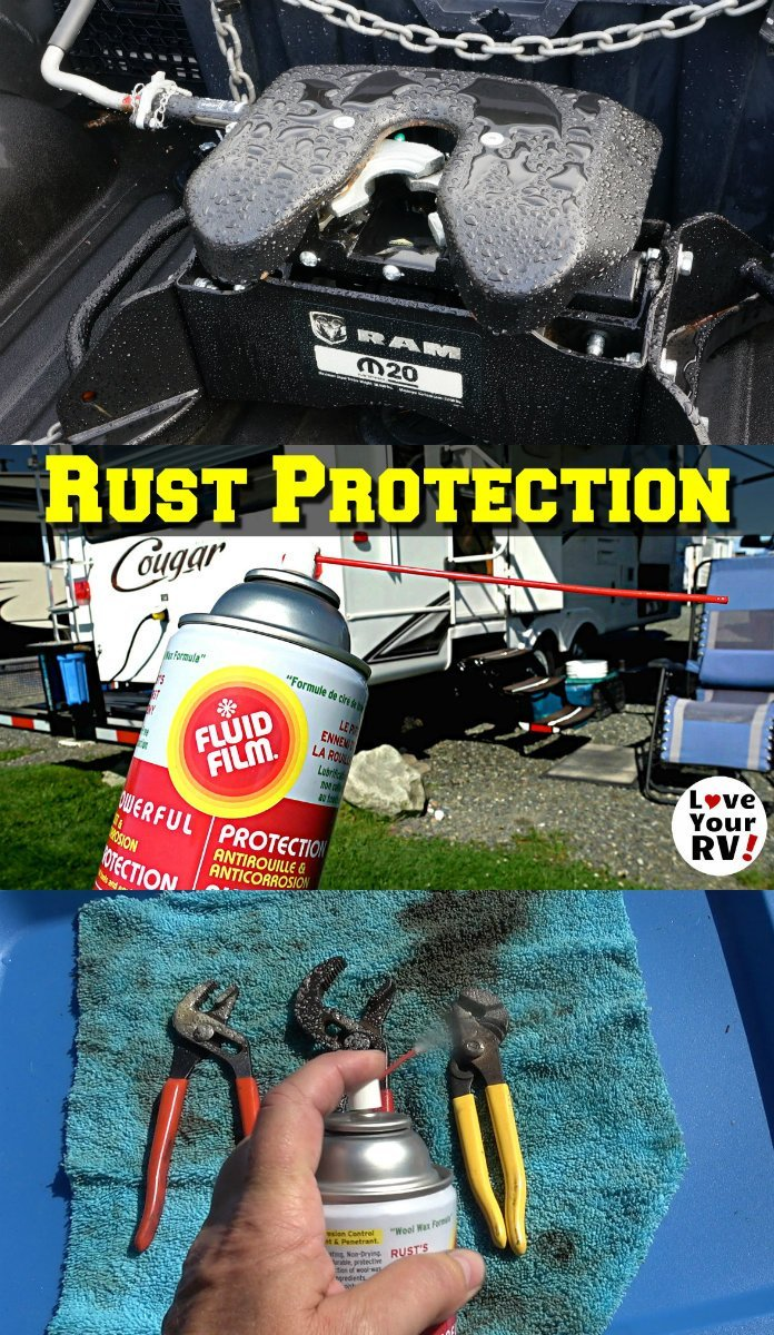 Protecting the RV from Rust using Fluid Film