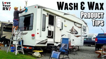 Favorite Products for Cleaning and Waxing the RV