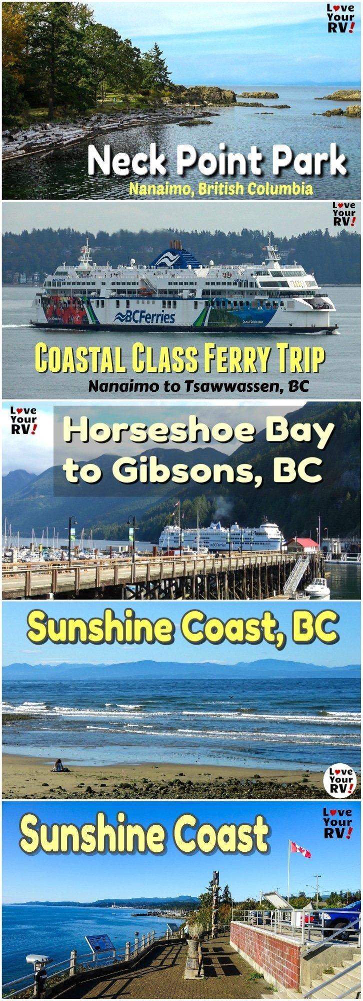 Getaway trip to Explore the Sunshine Coast of British Columbia
