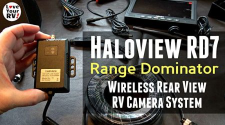 Haloview RD7 Wireless Rear View Camera Kit (Extended Range)