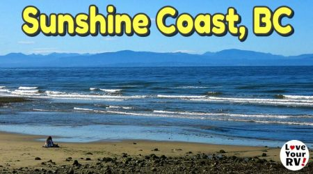 Exploring the Sunshine Coast of British Columbia