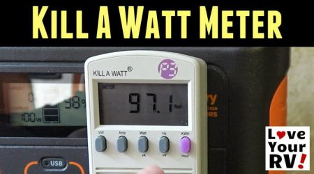 Kill A Watt Meter – RV Power Test Gadget