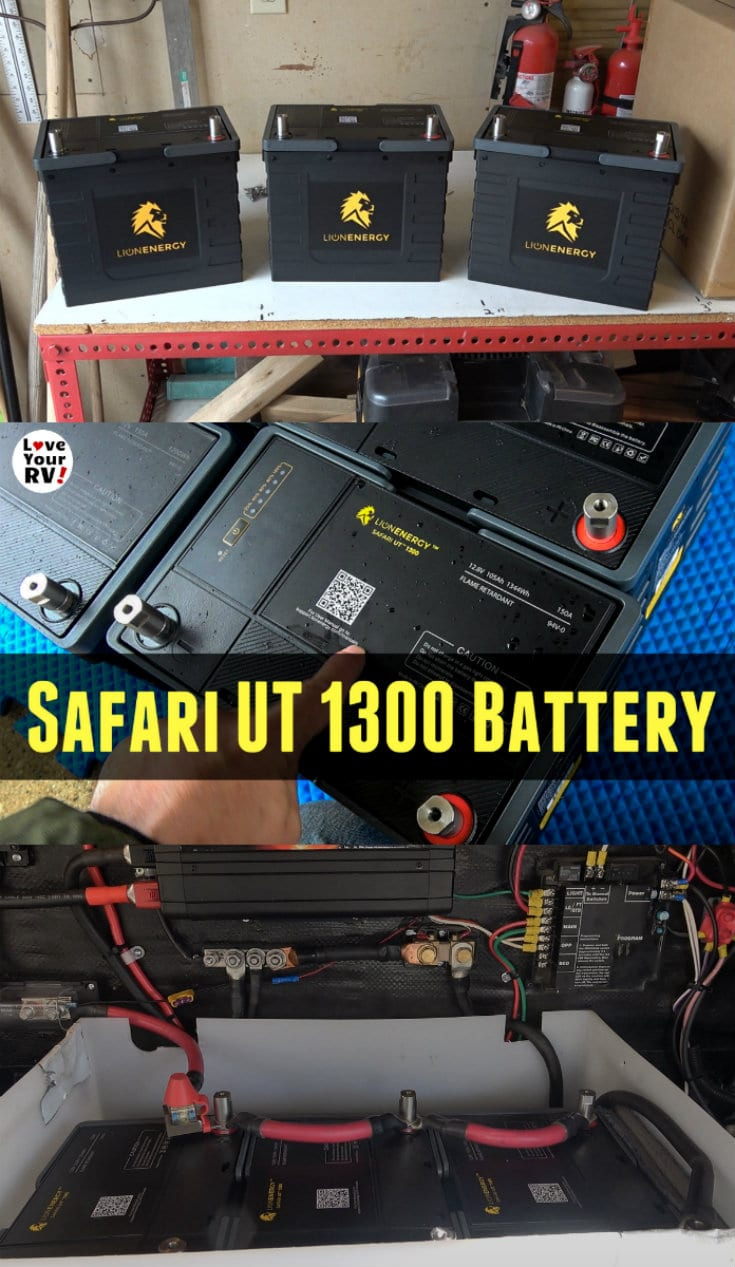 Lion Energy Lithium Battery Update New UT 1300 Model