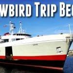 2019/20 Snowbird Trip Begins - Ocean Shores, WA