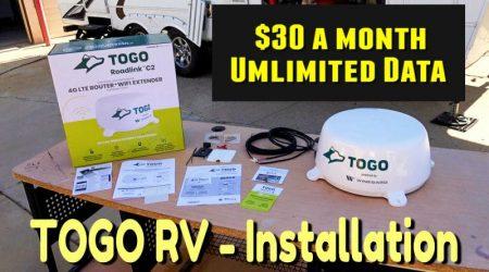 Installing TOGO Roadlink C2 4G LTE Router + WiFi Extender