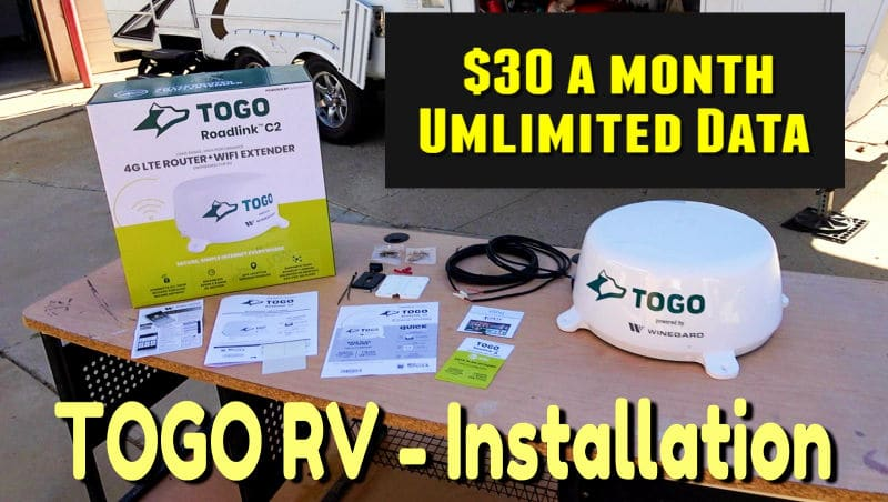 Togo RV Setup Feature Photo