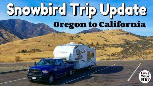 Trip Update Oregon to California Feature Photo