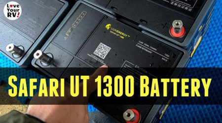 Lion Energy Lithium Battery Update *New* UT 1300 Model