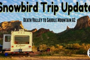 Snowbird Trip Update Saddle Mountain Feature Photo