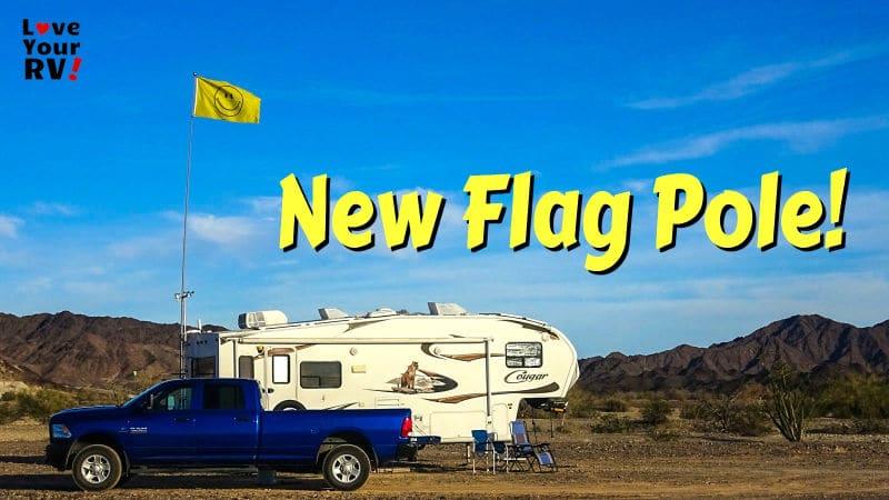 New Flag Pole Feature Photo
