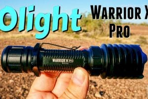 Olight Warrior X Pro Flashlight Review Feature Photo