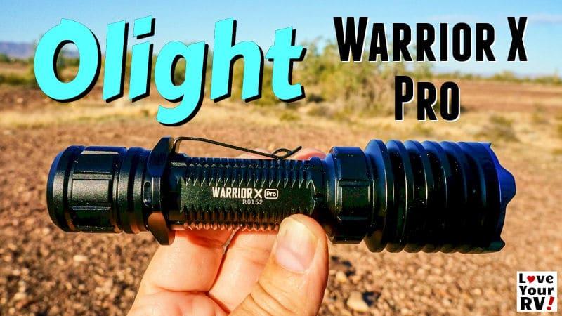 Olight Warrior X Pro Flashlight Review Feature Photo