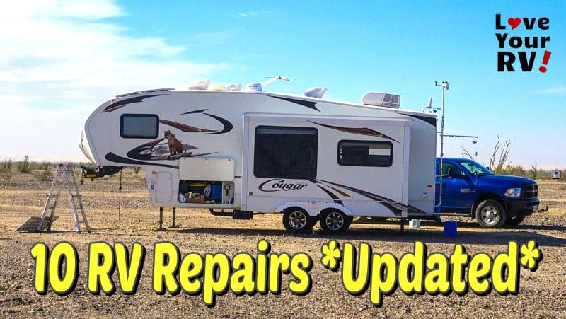 Ten RV Repairs Updated Feature Photo