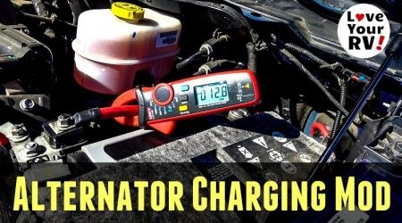 Alternator Charging Mod +Truck Bed (High Amp) 12V Power Port