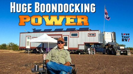 Fellow Fulltime RVer's Massive Boondocking Power System