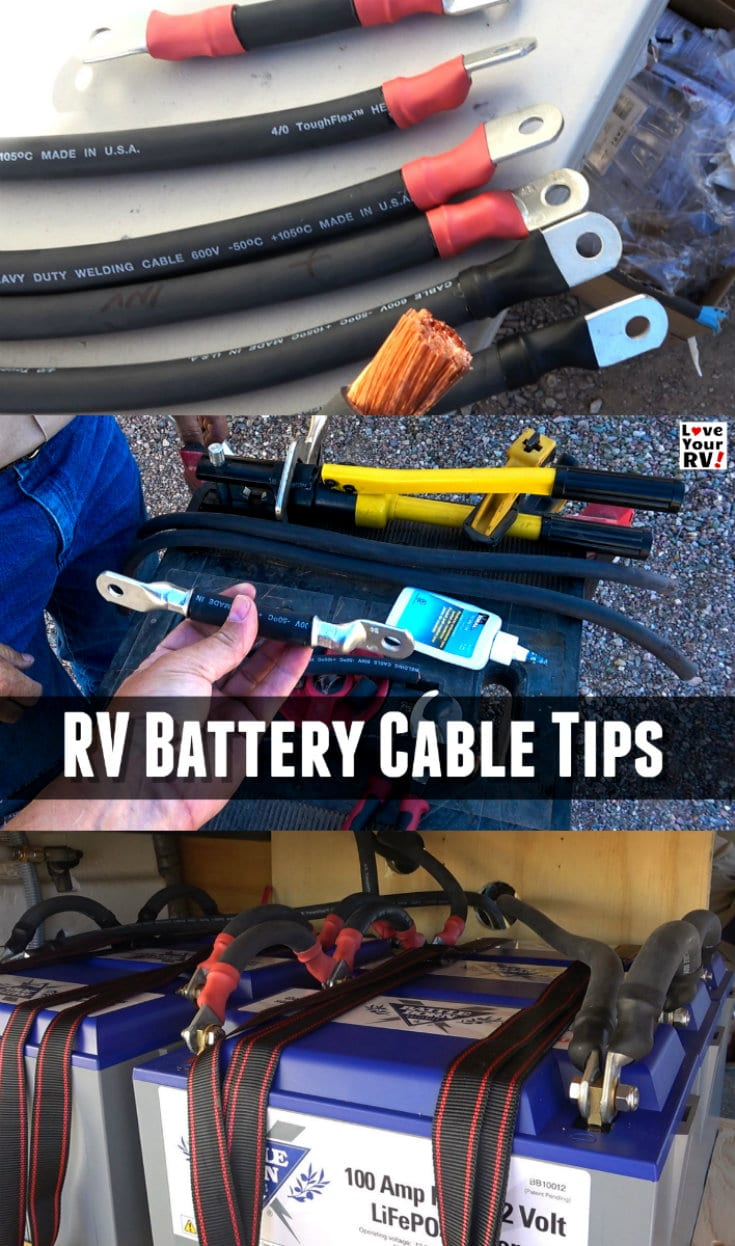 Tips for building your own custom heavy gauge battery cables