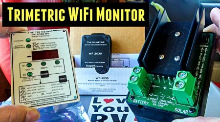 New WiFi Add-on for the Trimetric Battery Monitor (Installation and Demo)