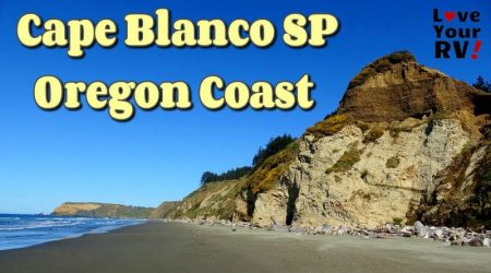 Cape Blanco State Park on the Oregon Coast