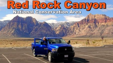 Visit to the Red Rock Canyon National Conservation Area, Nevada