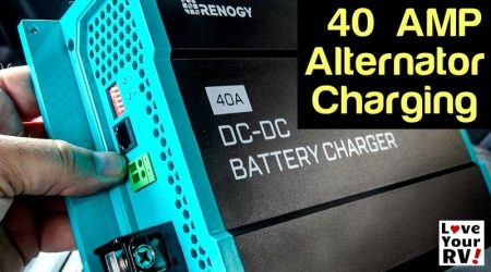 Renogy 40 Amp DC-DC Charger Installation and Demo