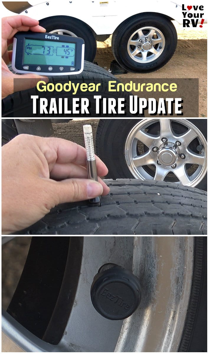Review Update - Video Goodyear Endurance Tires and EEZRV TPMS