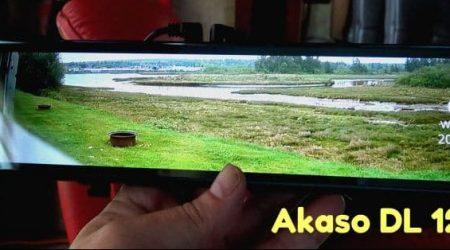 Akaso DL12 Rear View Mirror Dash Cam Review