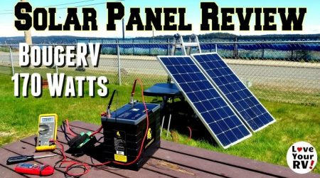 BougeRV 170 Watt Solar Panel Review