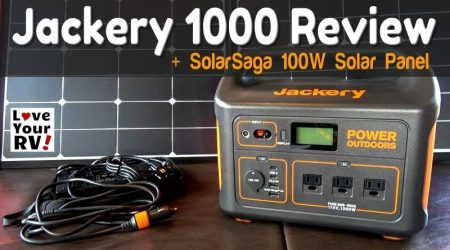 Jackery Explorer 1000 Portable Power Station + SolarSaga Folding Solar Panel