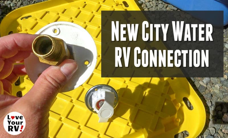 Replacing Leaky RV City Water Connection Feature Photo
