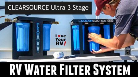 Deluxe RV Water Filter System Review – Clearsource Ultra (Three Stage)