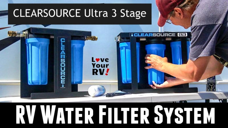 Clearsource Ultra 3 Stage RV Water Filter Feature Photo