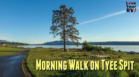 Early Morning Walk on Tyee Spit, Campbell River, BC