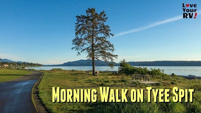Morning Walk on the Tyee Spit Feature Photo