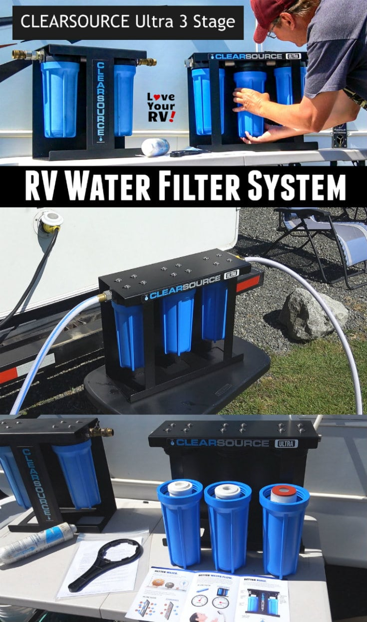 Video Review of the Clearsource Ultra 3 Stage RV water filter system