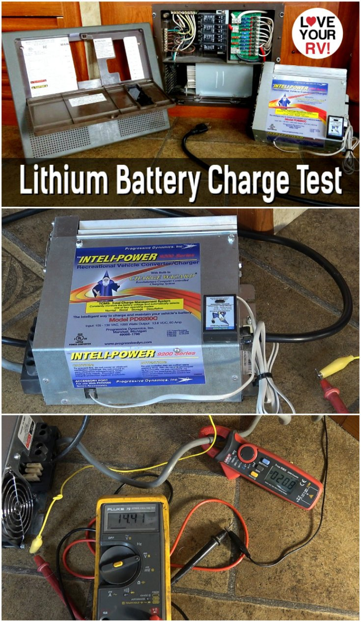 Lithium Battery Charge Test - Can You Use a Lead Acid Converter Charger?