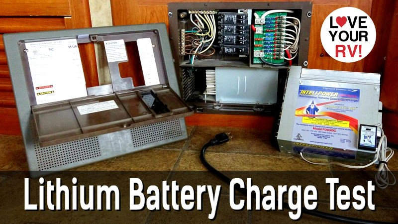 Lithium Battery Charging Off OEM Charge Converter Feature Photo