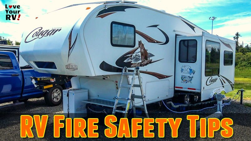 RV Fire Safety Tips Feature Photo
