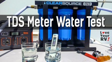 Testing RV Water Supply for Total Dissolved Solids
