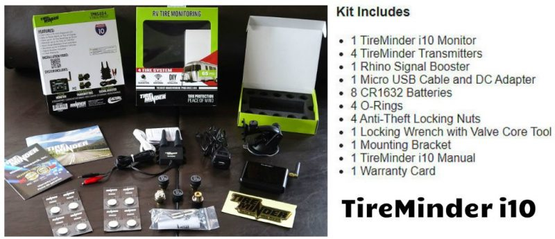 TireMinder I10 Kit with 4 Sensors