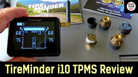 TireMinder i10 RV Tire Pressure Monitor System Review