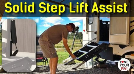 Installing the LCI Solid Step Lift Assist Kit