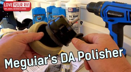 Meguiar's Dual-Action Polisher – Power Drill Attachment
