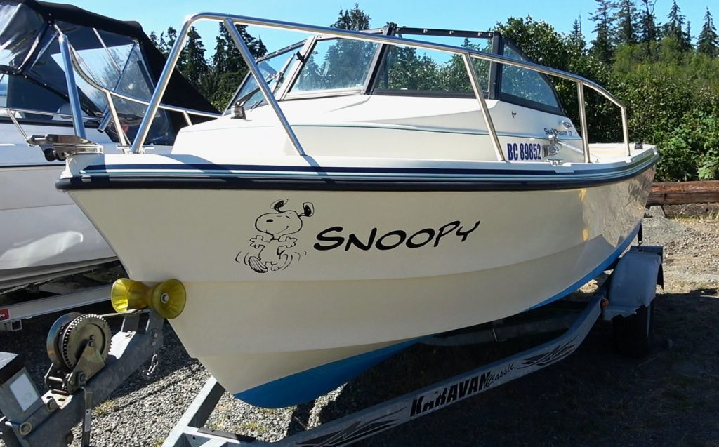 Anne's Boat Snoopy