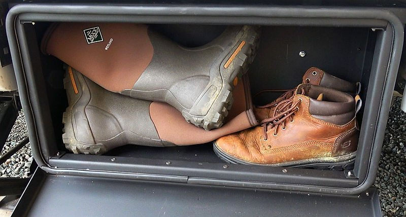 Solid Step Storage Box Boots Demo
